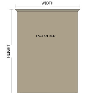 Miller's Murphy Bed: Panel bed measurements