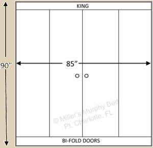 King Bi-Fold