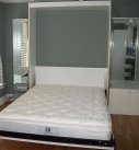 Millers Murphy Beds - Panel Door Wall Bed