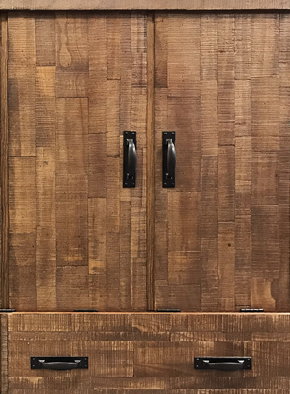 Miller's Murphy Bed, Bed-in-a-box in Reclaimed Brown