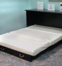Miller's Murphy Bed, Bed-in-a-box opened