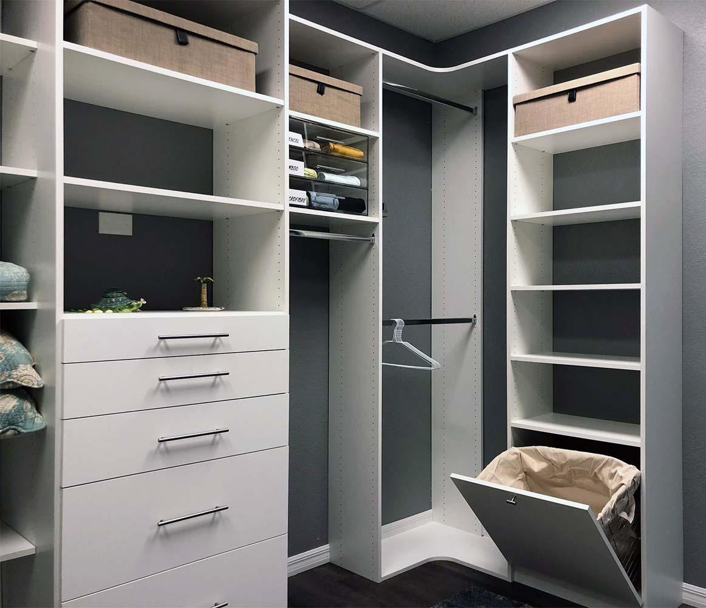 New closet System and closet organizer
