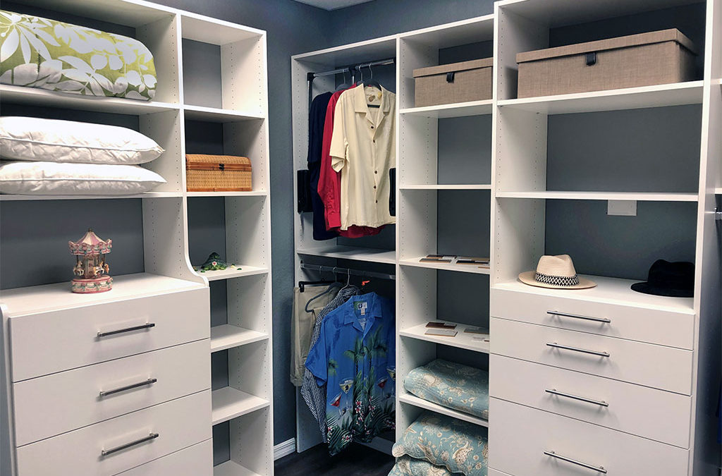 Miller's Murphy Bed Home & Offices offer's Solutions to Closet Clutter