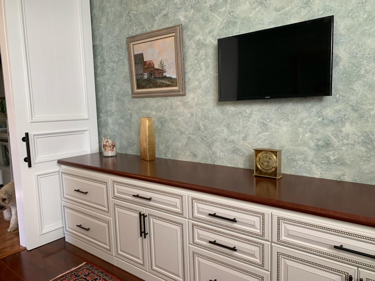 Cabinetry from Miller's Murphy Bed & Home Office