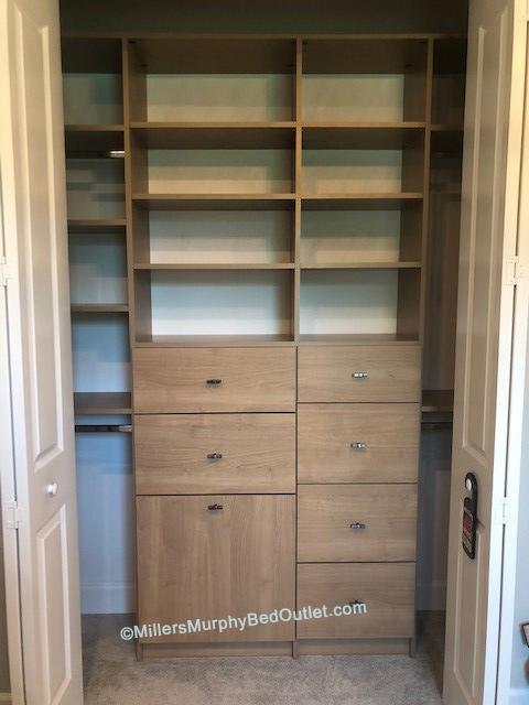 Closet system, Miller's Murphy Bed